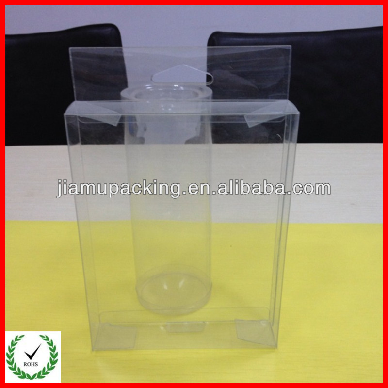 Cheap Transparent Plastic Macaron Packaging Box Made in China