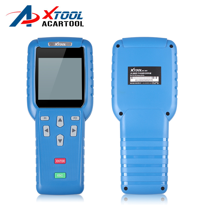 New X200 key programmer X200 Scanner X200 Oil Reset Tool X-200 Airbag Reset Tool X200 OBD2 Code Reader Update Online by DHL Free