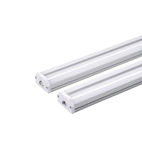 DLC t5 led integrated double tube, 1-8ft 7W-60w led tube linear fixture bar from Lonyung Led Lighting