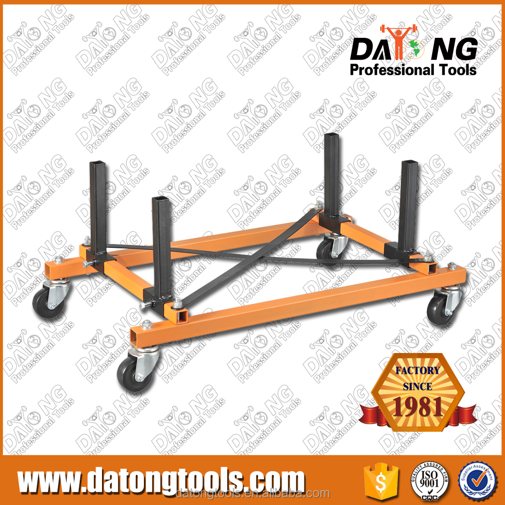 1000LBS Rolling Engine Stand For Engine Storage With 2 Straps