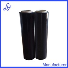 black pe stretch film