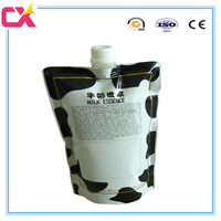 Spout Top Sealing and Beverage Industrial Use Plastic Spout Pouch for Hot Jam