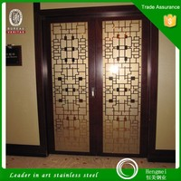 304 golden stainless steel door frame for home decoration