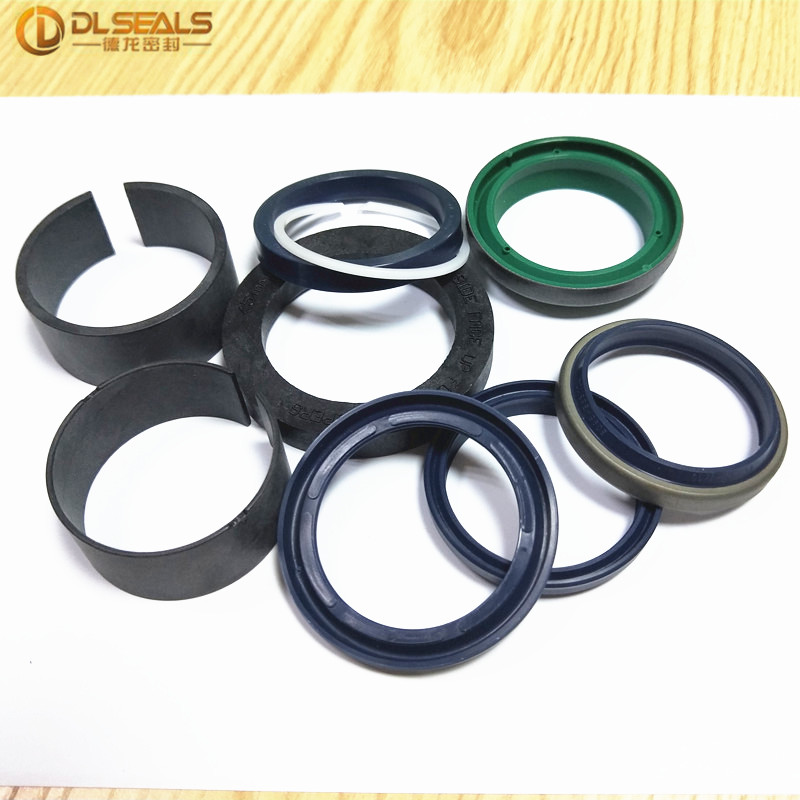 DLSEALS Cylinder seal kits AHC11572 for hydraulic application 9pcs/set