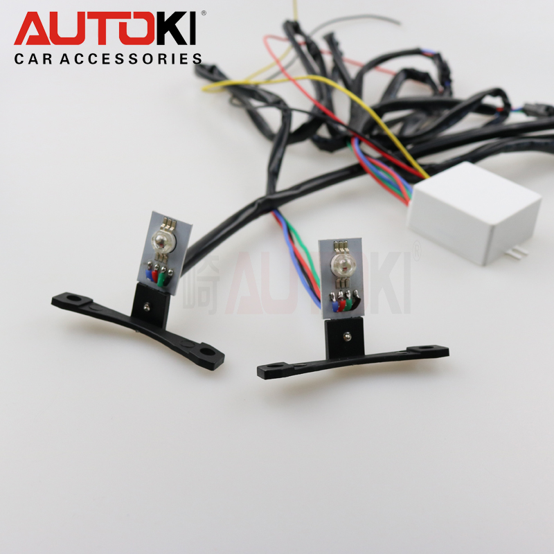Autoki rgb color changing 12V LED Angel eye Devil Demon Eye Kit