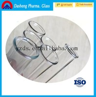Dasheng high quality 3.3 borosilicate glass tube /tubing with different sizes