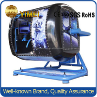 Supply full motion flight simulator, flying drive simulator