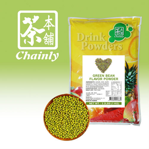 Made In Taiwan High Quality Green Mung Bean Flavoring Drink Powder