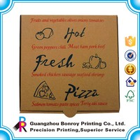 High Quality Custom Logo 16 inch Corrugated Box for Pizza Wholesale