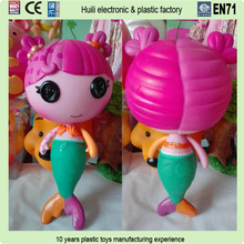 custom plastic blank vinyl toy, make your own custom plastic pvc vinyl toys, cartoon flockered vinyl toy action figure