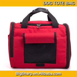 wholesale high quality portable carrier sided shoulder sling dog tote bag
