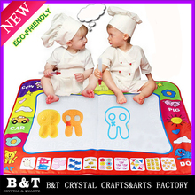 Children Water Canvas write graffiti carpet The black magic magic water canvas painting board Mini Toy