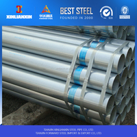 green house pre galvanized steel pipe spring steel tube