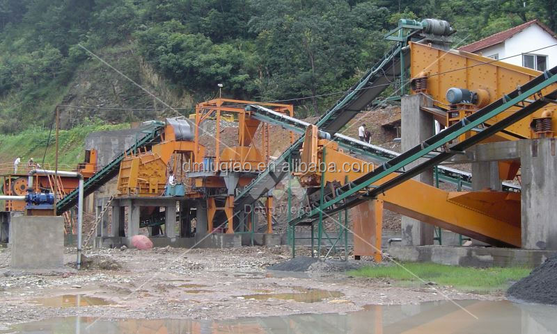 Shanghai DongMeng laterite stone crusher plant for sale