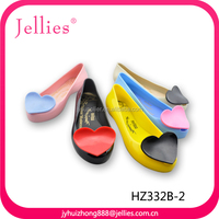 crystal injection pvc shoes for women pvc fascinating safe footwear jelly pvc sandals