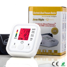 New Coming Accurate Blood Pressure Monitor Upper Arm Eco-Friendly Cuff Smart One-button measuring for home/hospital