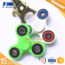 CE & SGS quality LED aluminium finger fidget tri-spinner toys factory price cheap metal alloy hand spinners