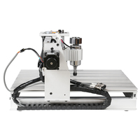 High quality 3D Mini DIY CNC router 3040 3 axis Wood/Advertising working Carving Machine control system with 2.0 USB