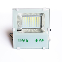 factory price waterproof 40w led solar panel pir motion sensor powered flood lights with sensor