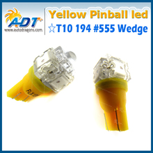 Hot selling Yellow plug & play T10 Ba9s Pinball LED With 12 months warranty