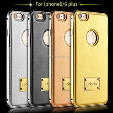 Alibaba China Hot new products for 2016 luxury genuine leather iphone 6 case