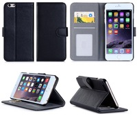 Heat Setting Shock Proof Flip Second Leather Case For Mobile Phone Case For Iphone 6 plus 5.5