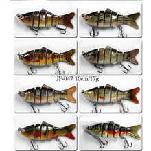 Hot popular multi section joint swimbait plastic fishing lure