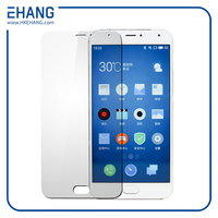 Fashion 9h hardness for Meizu pro 5 tempered glass screen protector
