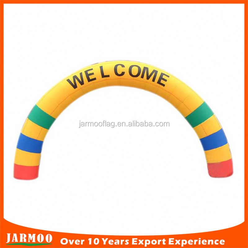 custom design christmas inflatable arch for advertising