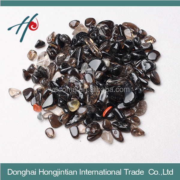 wholesale natural smoky quartz tumbled stone