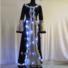 LED light up dress/luminous costume for party and stage performance