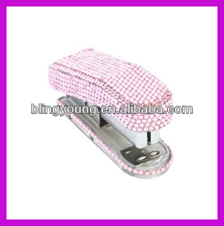 Fashion rhinestone bling stapler BY 3529