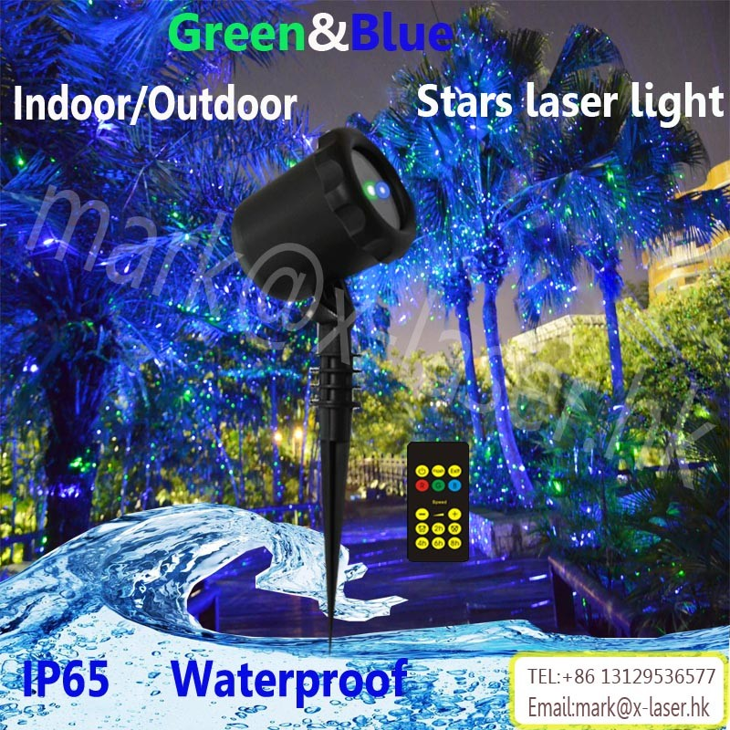 2017hot sale products on Amazon mini laser light projector star projector shower