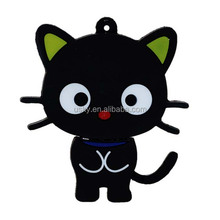 black cat usb with chain