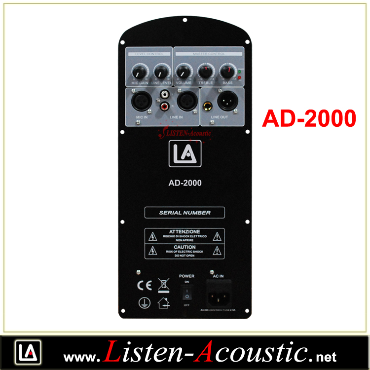 AD-2000 Class D Power Amplifier Module Board