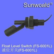 Liquid fuel float level sensor