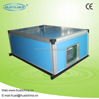 Ultra-thin Ceiling AHU for industrial water chiller