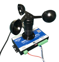 wind speed measuring device with SMS Alarm