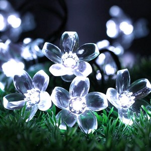 Holiday Time Christmas Wedding Decorative Waterproof Led Tree Flower Cherry Blossom String Lights