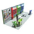 Detian Offer display stand favoshow display trade show for exhibition fair