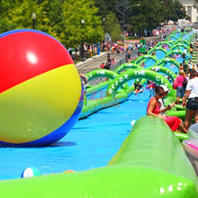 ZZPL Inflatable Slip N Slide,inflatable slide the city, GIANT inflatable water city slide for sale