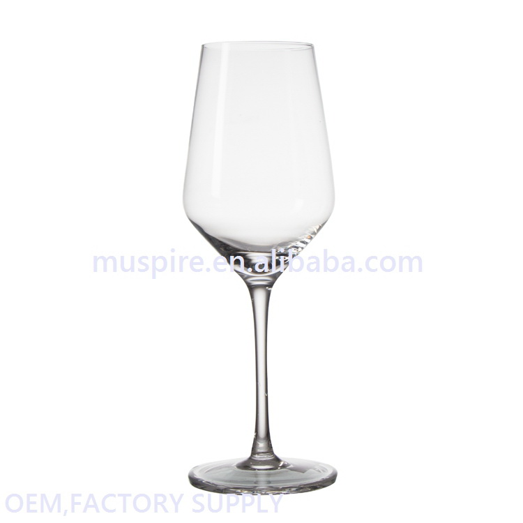 Custom made modern professional decoration plastic wine glass