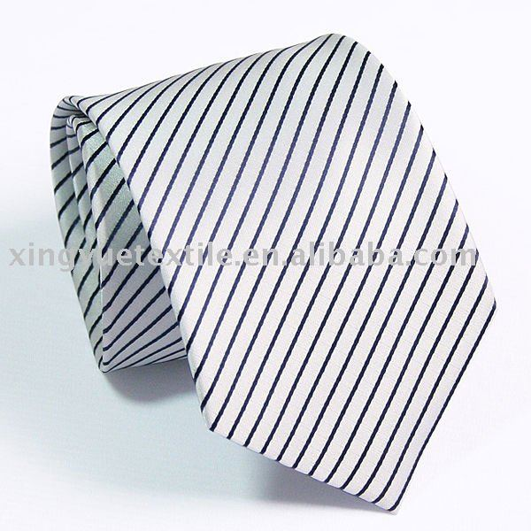 2017 fashion striped 100%polyester ties trendy menswear