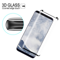 Factory premium 9H 0.26MM Asahi glass 3d curved screen prector for samsung galaxy s9 edge tp edge tempered glass