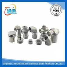 sus 304 thread is 1/8 bsp gas pipe fittings from made in china