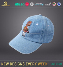 manufactory embroidered denim kids and parents baseball cap