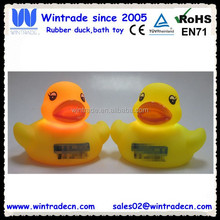Custom led duck lampe logo printed flash light toy