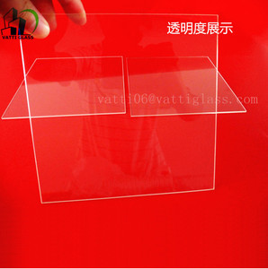 Fused silica quartz glass plate, quartz glass window