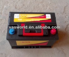 DIN55 12v55ahMF used car and truck batteries for sale
