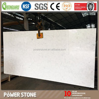 Prefab Bianco Carrara White Composite Quartz Stone